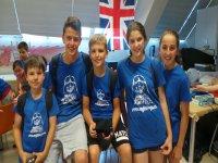 Alumnos de los summer camps