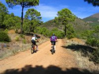 Rutas en bici de montaña en Ronda