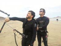 在法马拉在法马拉标志火山风筝冲浪营