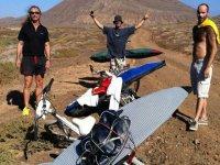 Cursos de kite en Lanzarote