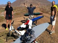 Corsi di kitesurf a Lanzarote