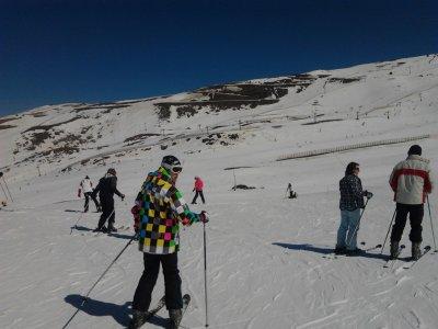 Clases de esquí 1 hora, Sierra Nevada