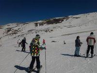 滑雪课程 1 小时,内华达山脉