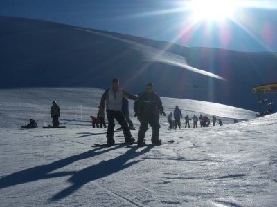 内华达山脉滑雪课程 1 小时