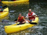 Rutas en canoa