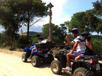 Ruta en quad por Lloret de Mar con niños