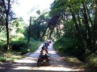 Salida en quads para grupos por la Costa Brava