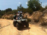 Ruta de quad en pareja en Girona