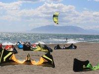 Celebralo con kiteboard