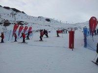 torneo de esqui con lospeques