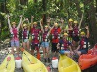Despedidas en kayak