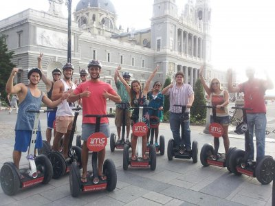 Segway Route Around Madrid Río 90 Min
