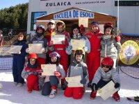 giovani sciatori intitolati