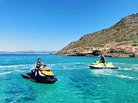 Recorriendo Mallorca en moto de agua