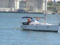 Navegae en barco