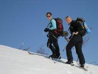 Skiing in Boi Taull
