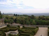 Vistas jardines de El Escorial
