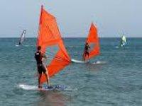 apprendimento del windsurf