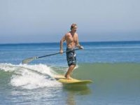 Learn paddle surfing