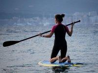 remando paddle surf