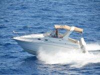 摩托艇航行