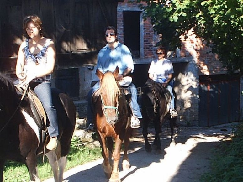 percorso a cavallo in Asturie