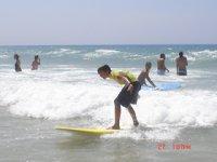 Las primeras olas