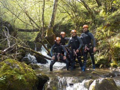 Sella river Canyoning descent easy level