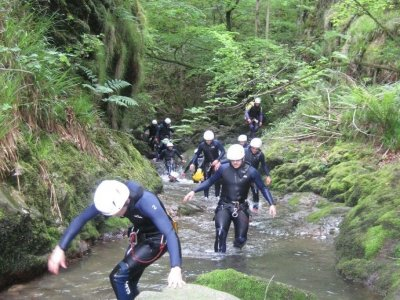 Canyoning Sella medium difficulty Asturias Amieva
