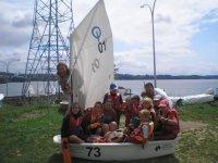 Light sailing for children