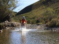 Con la bici por el agua