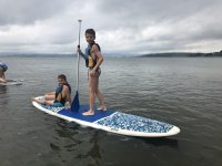 Paddle surf en el embalse