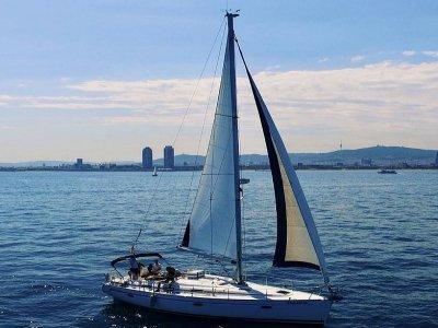 巴塞罗那独家帆船之旅,2小时