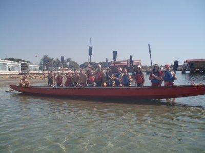 1 小时独木舟路线 - San Pedro del Pinatar 的龙
