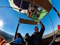 Piloto profesional del globo
