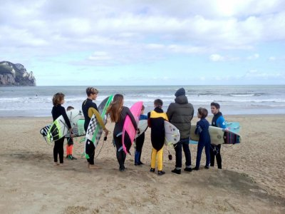 5-Classes Voucher, Luaña Beach, Cobreces
