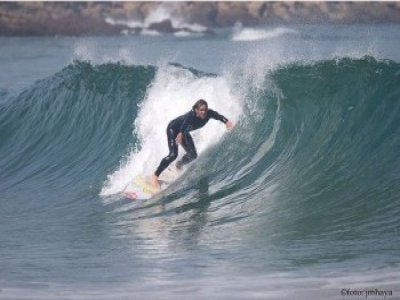 Surfing classes for a month, Cobreces
