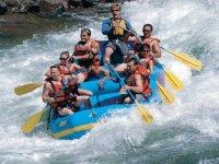 Rafting Hoces del Cabriel. Media Jornada