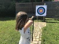 Archery at the Los Arranes hostel