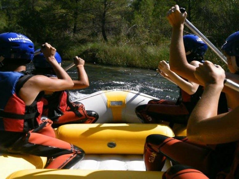 Inside the raft