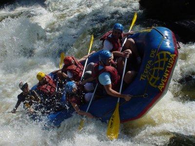 Rafting descent Guadazaón River half day