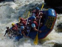 Descenso de Rafting en río Guadazaón media jornada
