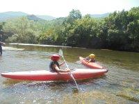Canoeing in Najerilla