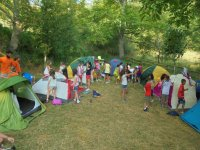 Día de acampada