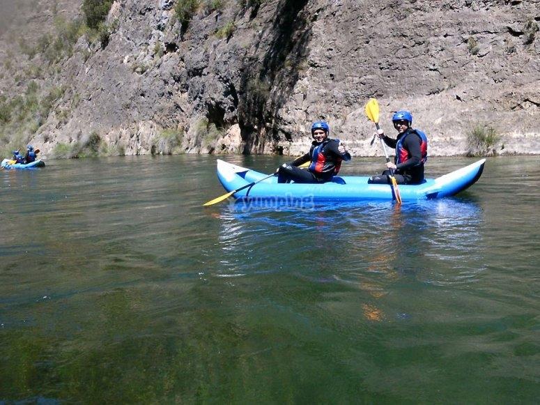 Kayak con amigos