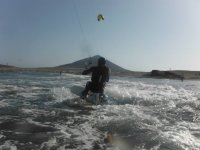 Experience the glide through the water with the help of the kite