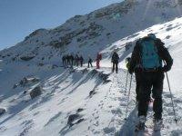 登山和雪鞋