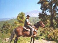 Horse tour in Tenerife
