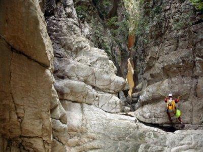 Barranquismo seco en Losilla, nivel II