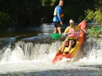 Rafting with rapids in Arousa
